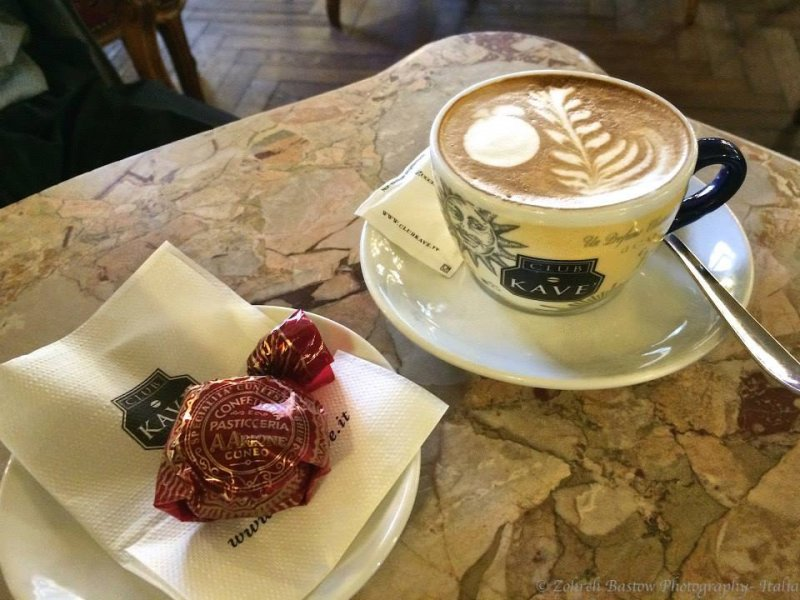 coffee in Cuneo